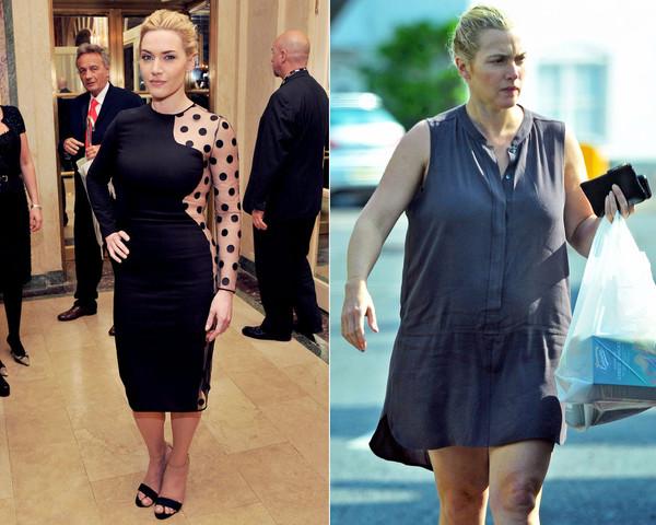 Kate Winslet, Kate Winslet sem maquiagem