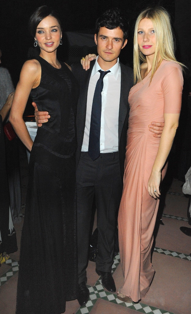 Miranda Kerr, Orlando Bloom, Gwyneth Paltrow