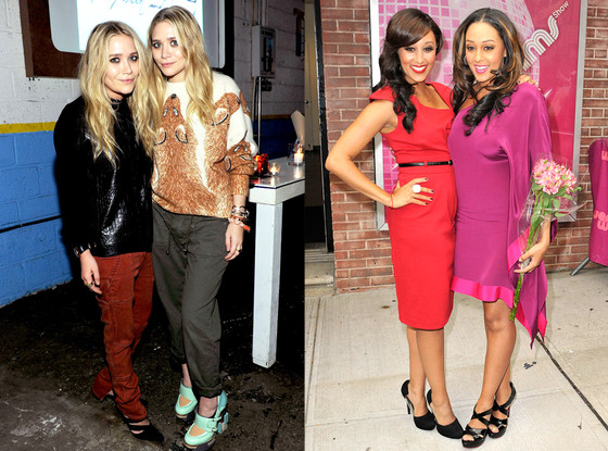 Mary Kate Olsen, Ashley Olsen, Tia Mowry, Tamera Mowry