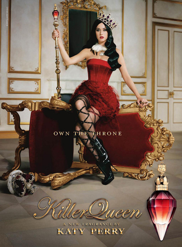Katy Perry Shares First Look at Killer Queen Fragrance Ad ...