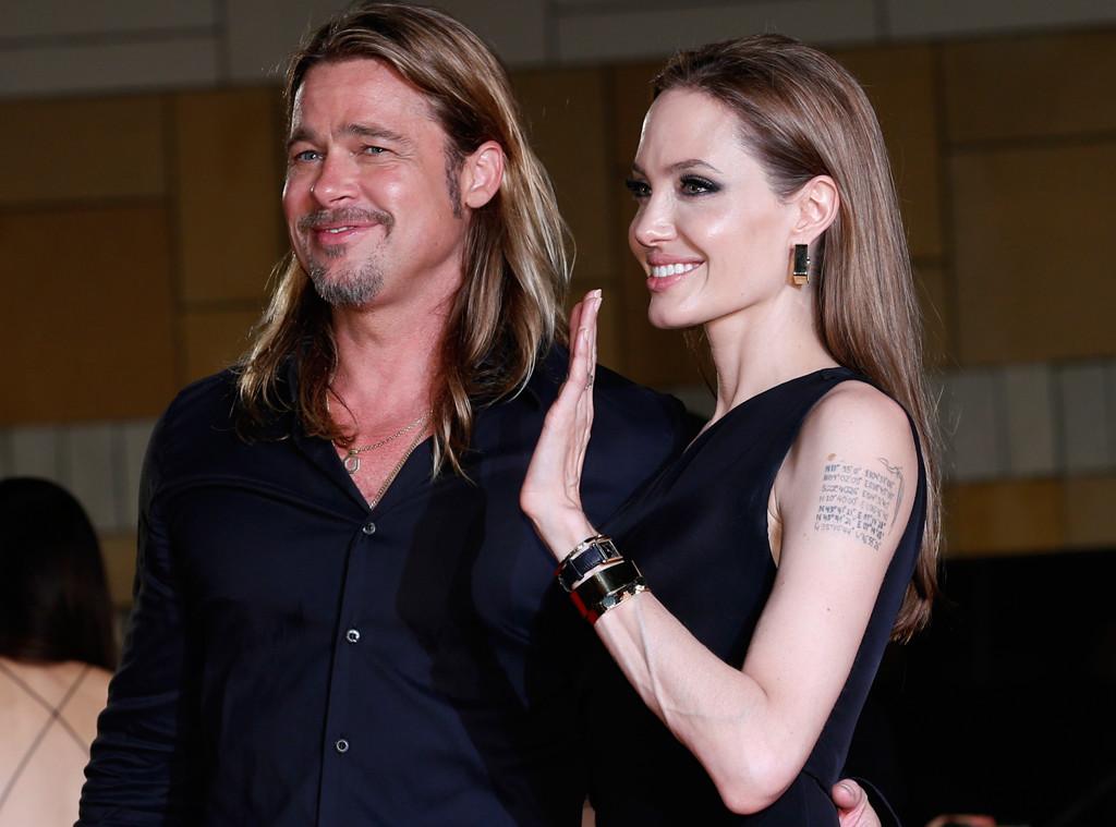 Angelina Jolie e Brad Pitt terão quatro casamentos
