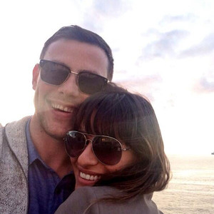 Lea Michele, Cory Monteith, Twit Pic
