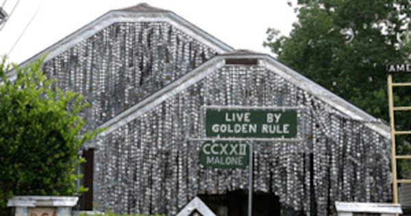 Beer Can House in Houston Becomes Landmark, More ...