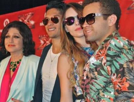 Belinda, Chino y Nacho, Angélica Maria