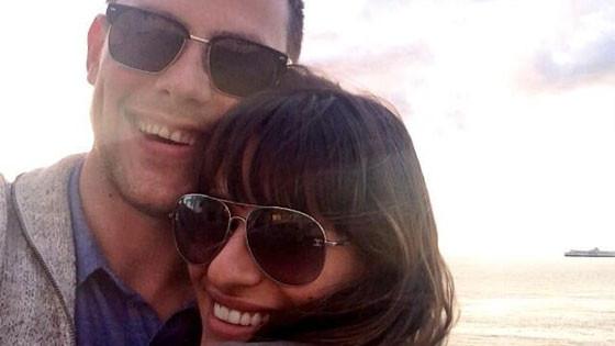 Lea Michele, , Cory Monteith, Twit Pic
