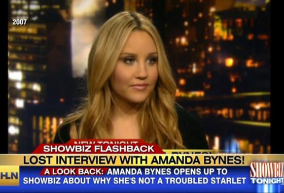Amanda Bynes, Lost Interview