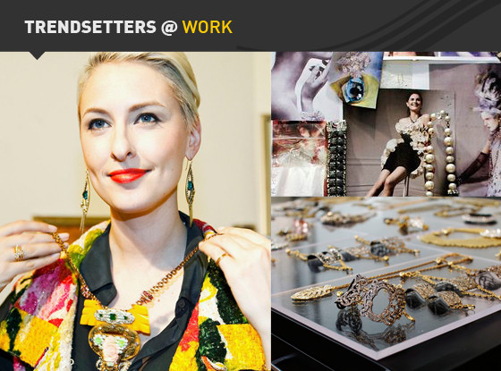 Trendsetters at Work, Lulu Frost