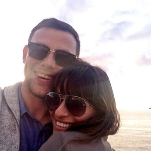 Lea Michele, , Cory Monteith, Twit Pic