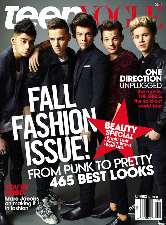One Direction, Teen Vogue