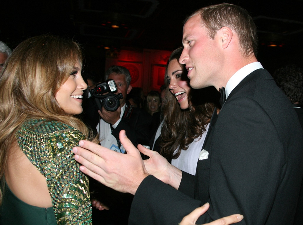 Prince William, Duke of Cambridge, Jennifer Lopez