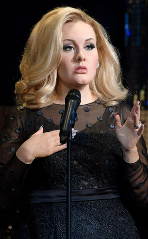 Adele, Madame Tussauds Wax Figure