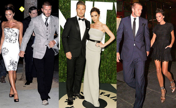 Victoria Beckham & David Beckham Celebrate 14th Anniversary: See Their Best Looks as a Couple