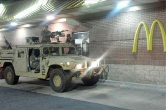Humvee Drivethru