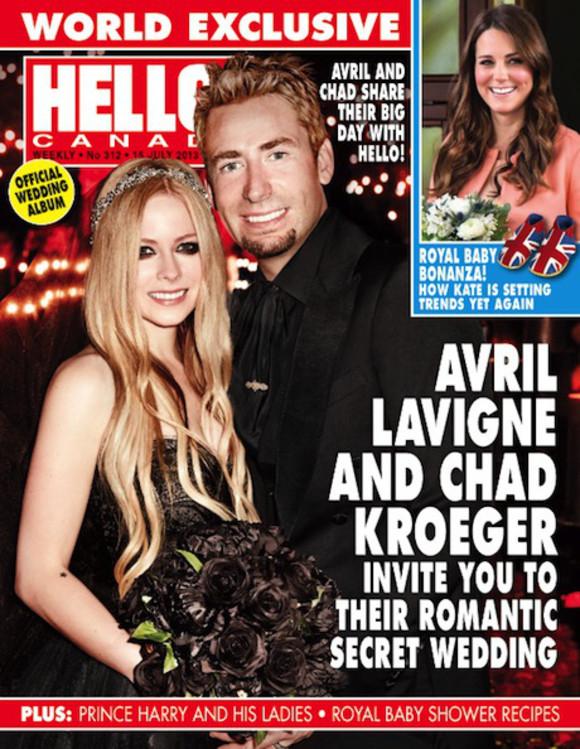 Avrilg Lavigne, casamento, vestido casamento preto