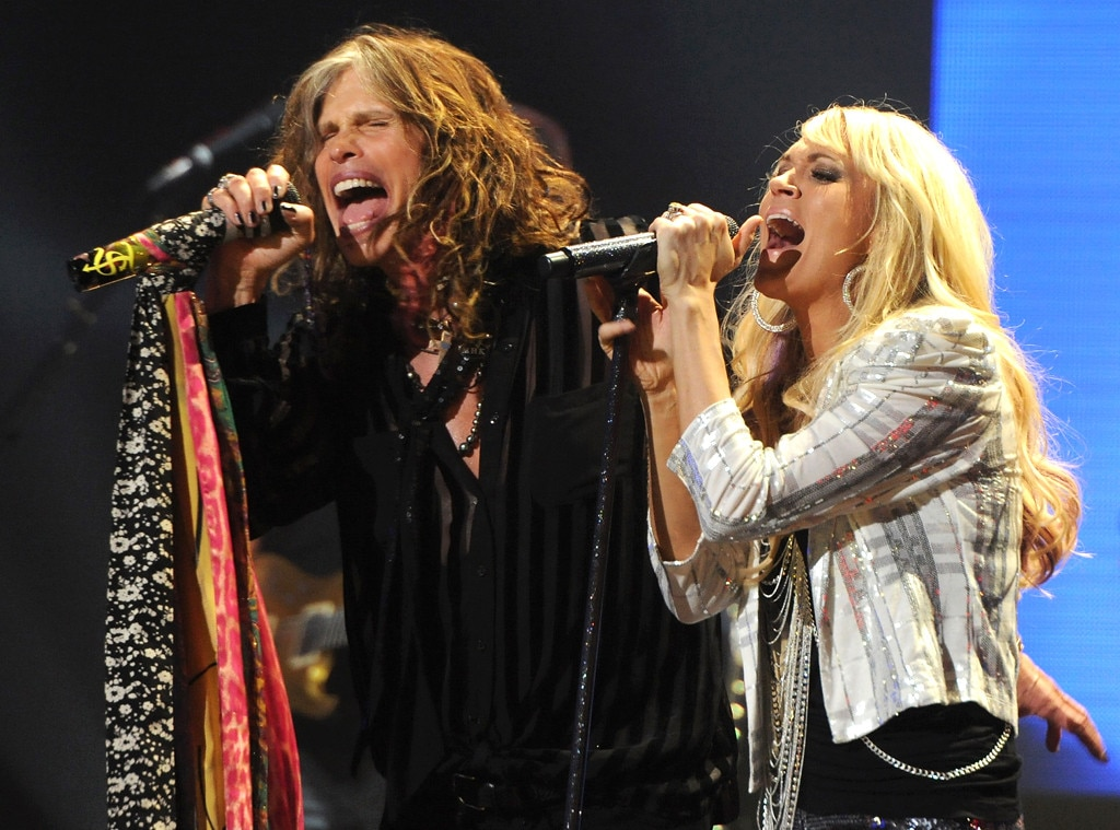 Steven Tyler, Carrie Underwood, Celebrity Collaborations
