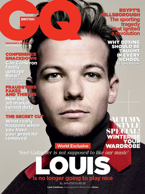 One Direction, GQ Cover
