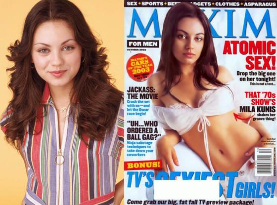 Mila Kunis, That 70's Show, Maxim