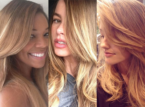 Gabrielle Union, Sofia Vergara, Minka Kelly, Instagram, Blonde