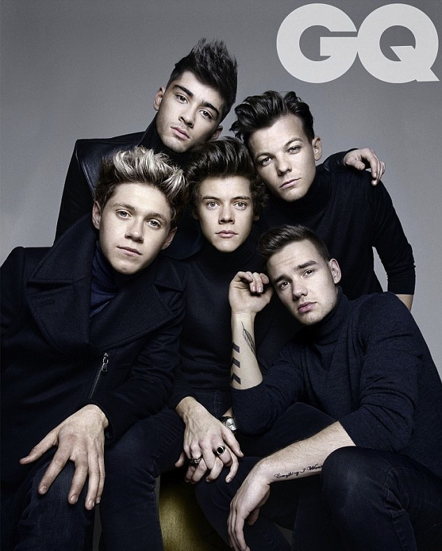 One Direction, GQ