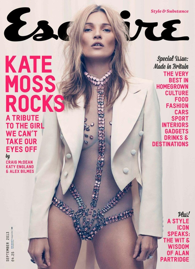 Kate Moss, Eqquire UK