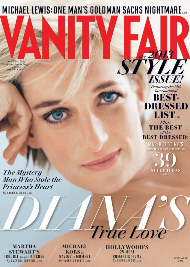 Princess Diana, Vanity Fair