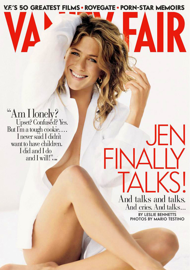 Jennifer Aniston, Vanity Fair Cover
