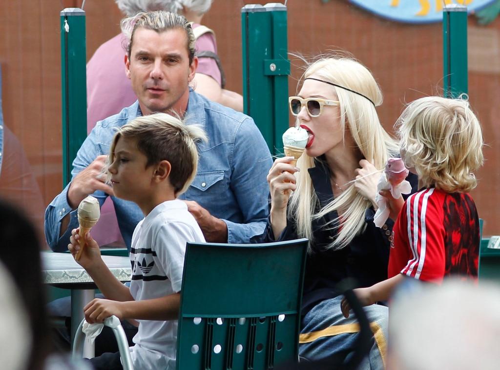 Gwen Stefani, Gavin Rossdale, Kingston, Zuma