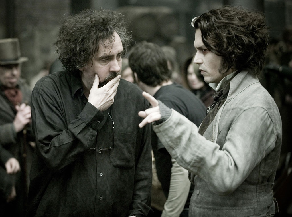 Tim Burton, Johnny Depp, Celebrity Collaborations