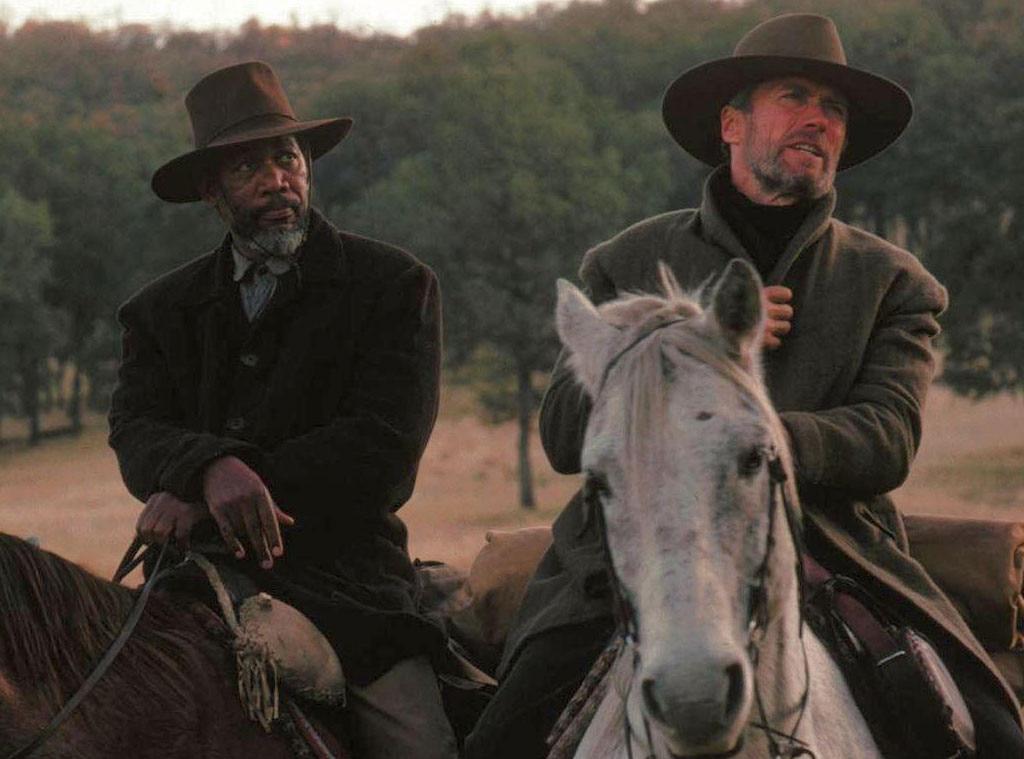 Morgan Freeman, Clint Eastwood, Unforgiven, Celebrity Collaborations