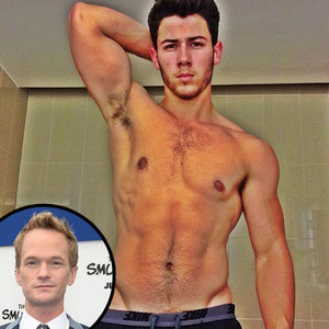 Nick Jonas, Shirtless, Instagram, Neil Patrick Harris