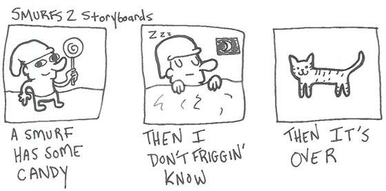 smurfs 2 comic