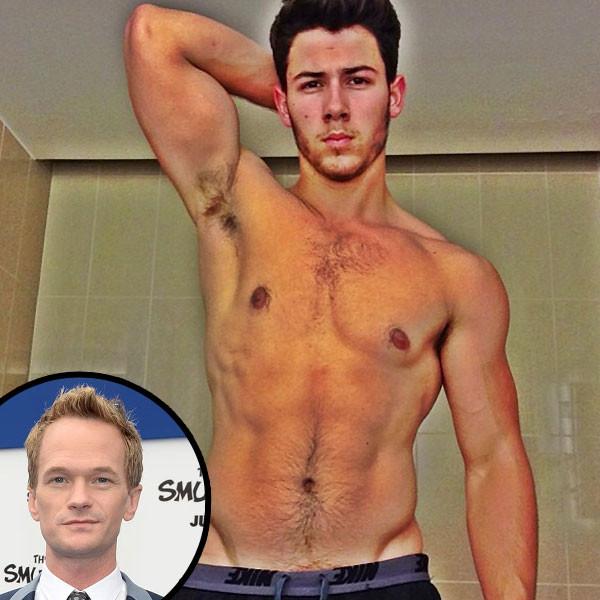 Nick Jonas, Shirtless, Instagram, Neil Patrick Harris