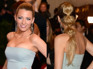 Blake Lively, Ponytail