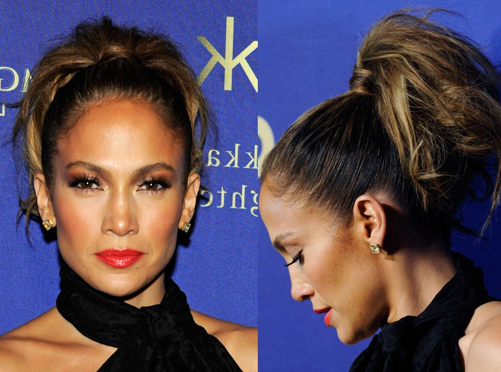Jennifer Lopez, Ponytail