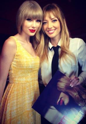 Taylor Swift, Patricia Zavala