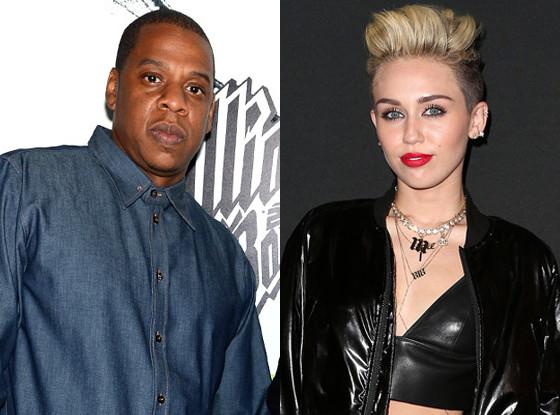 Jay-Z, Miley Cyrus
