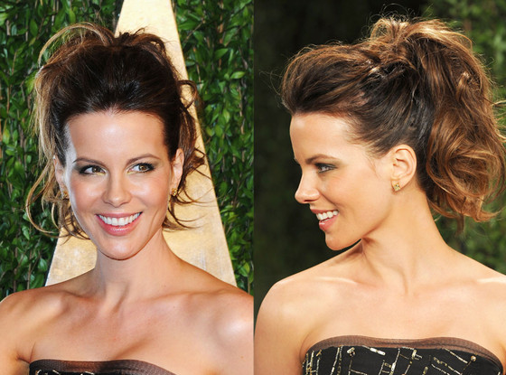 Kate Beckinsale, Ponytail