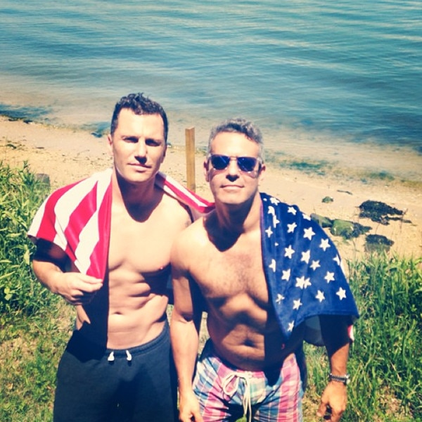 Andy Cohen, Sean Avery, Instagram