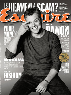 Matt Damon, Esquire