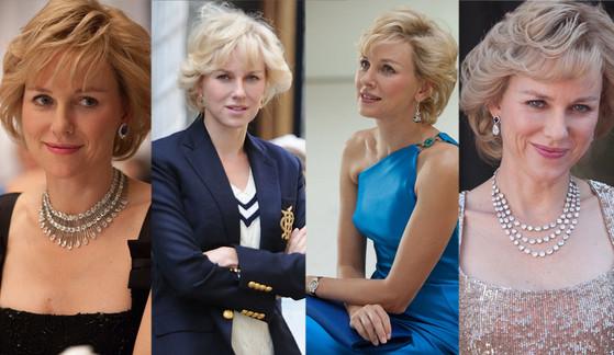 Naomi Watts, Diana, Chopard Jewelry