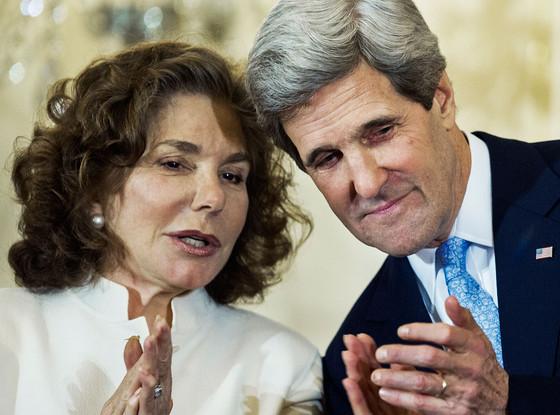 Teresa Heinz Kerry, US Secretary of State John Kerry