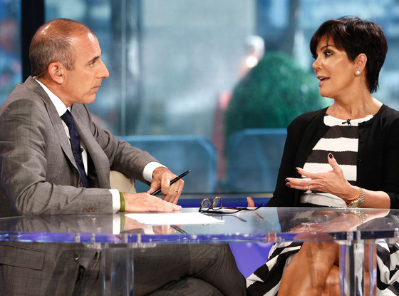 Matt Lauer, Kris Jenner, The Today Show