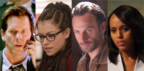 Emmys, Drama: Kevin Bacon, Tatiana Maslany, Andrew Lincoln, Kerry Washington