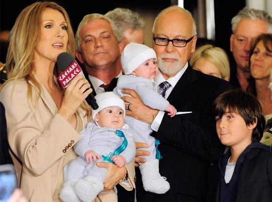 Celine Dion, Nelson Angelil, Rene Angelil, Eddy Angelil, Rene-Charles Angelil