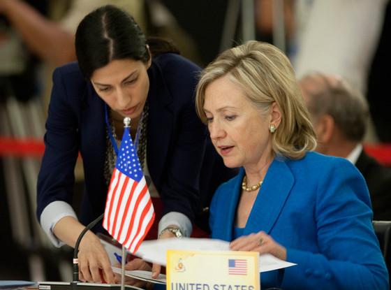 Hillary Clinton, Huma Abedin