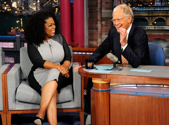 Oprah Winfrey, Late Show with David Letterman