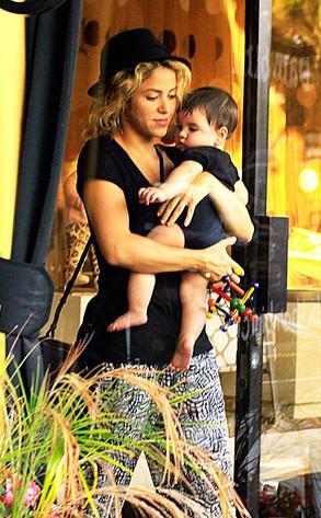 Shakira, Milan Piqué Mebarak