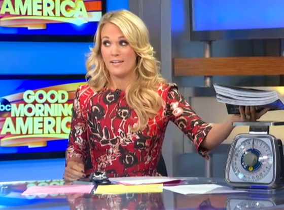 Carrie Underwood, Good Morning America