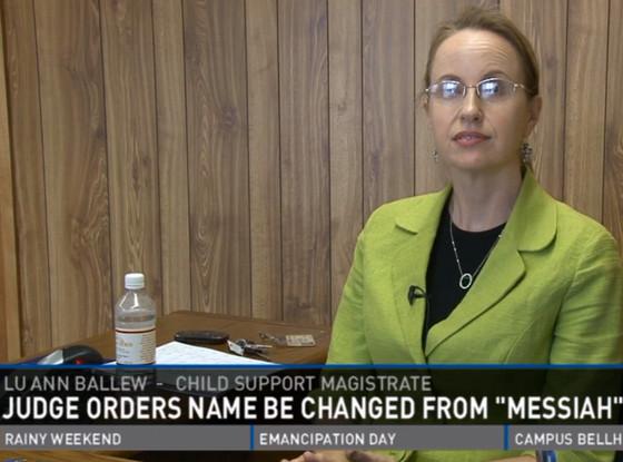 Lu Ann Ballew, Baby Messiah, Name Change