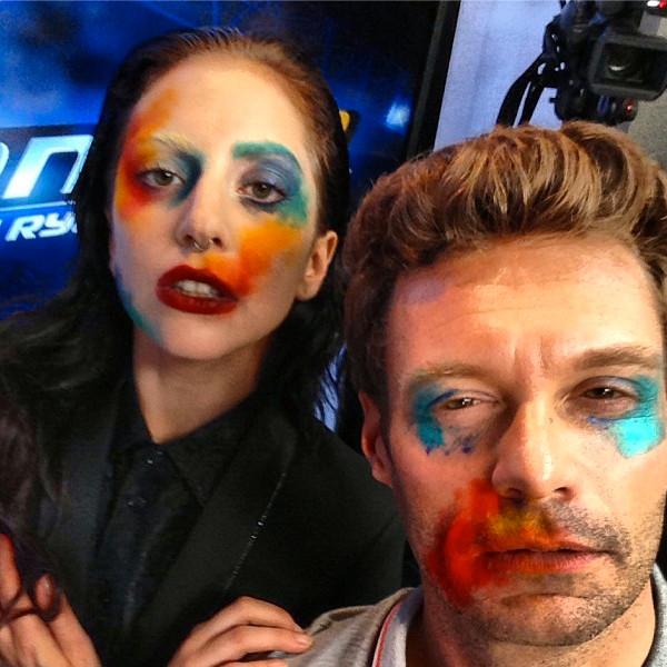 Lady Gaga, Ryan Seacrest